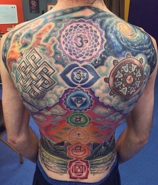 tatuajes de los chakras