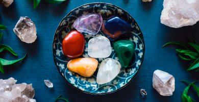 cargar piedras chakras